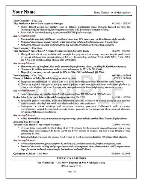 sle of executive resume summary sle resume executive summary best resume gallery
