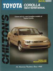 auto repair manual online 1997 toyota corolla head up display 1988 1997 toyota corolla chilton s total car care manual
