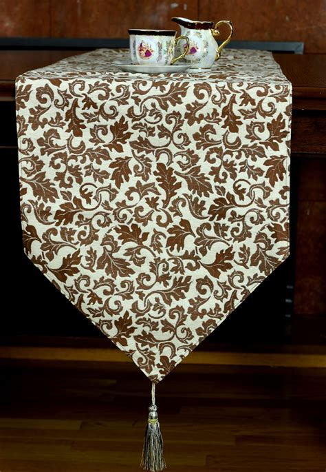 jacquard table runner jacquard floral table runner banarsi designs