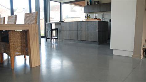 betonvloer in huis betonvloeren in woningen gepolierde beton binnenshuis