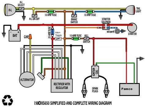 voltage regulator rectifier wiring diagram