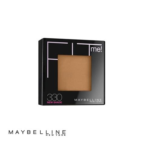 Maybelline Fit Me Powder maybelline fit me pressed powder 330 toffee caramel 9g ebay