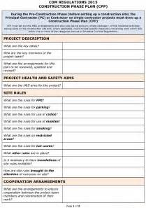 Building Access Policy Template by Best Photos Of Construction Work Plan Template