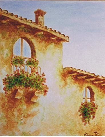 immagini paesaggi fioriti quadri paesaggi balconi fioriti pittori e quadri