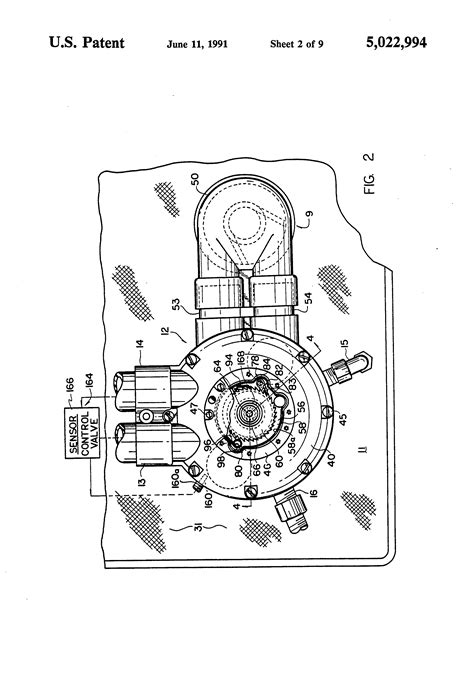 kinetico water softener parts diagram patent us5022994 fluid treatment system patents