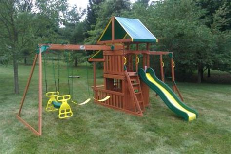 assembled swing sets assemble and installed items by any assembly