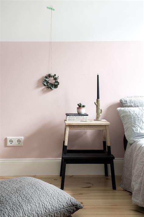 schlafzimmer wandgestaltung wand farbig streichen schlafzimmer kreative