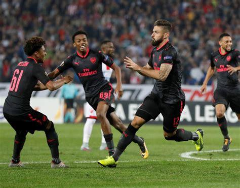 arsenal red star arsenal player ratings against red star belgrade sport
