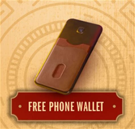 Black And Mild Giveaway - free phone wallet from black and mild