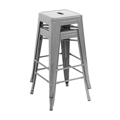modern industrial bar stools belleze set of 4 modern industrial bar stools 30