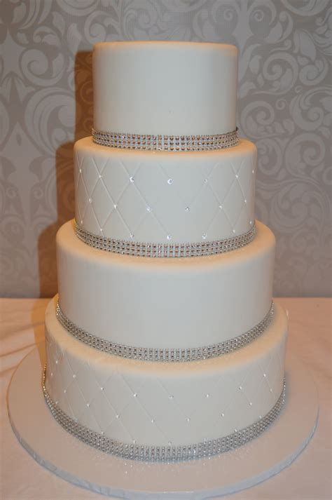 New Four Tier Wedding Cake Four Tier Fondant Faux Wedding Cake Wedding Cake