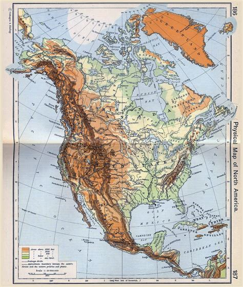 american map maps of america and american countries