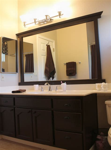 Framing A Mirror Without Miter Cuts The Kim Six Fix Bathroom Mirror Trim