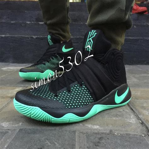 Kyrie 2 Kyrie Irving Shoes Sepatu Basket Murah nike kyrie 2 quot black green glow quot complex