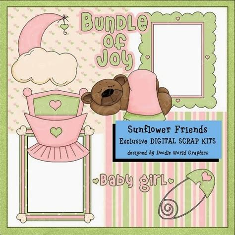 Clipart For Scrapbooking free baby scrapbook clip kootation