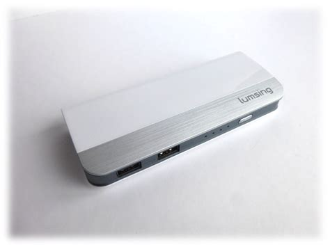 test power bank lumsing harmonica 10400mah power bank test