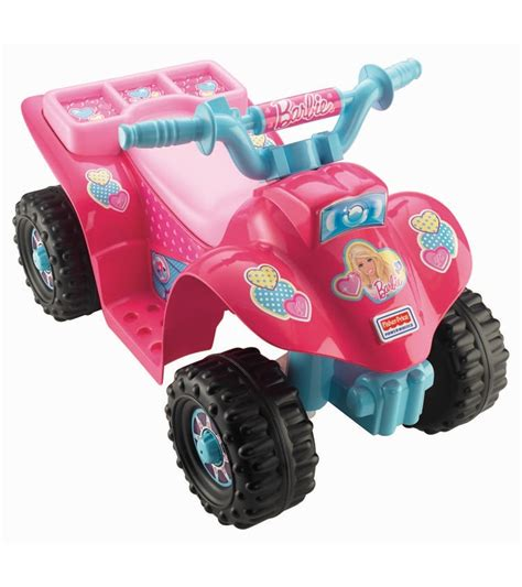 barbie power wheels fisher price power wheels lil quad barbie