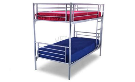 bunk bed slats silver 3ft kids metal bunk bed with slats new homegenies
