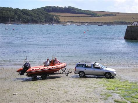 boat launch sites st mawes harbour st mawes cornwall