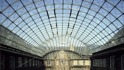 glass roof museum of hamburg history glass roof gmp architekten