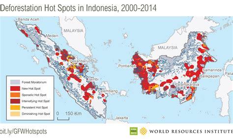 amazon jakarta new deforestation hot spots in the world s largest