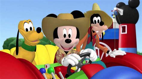 la casa de mickie la divertida granja de mickey la casa de mickey mouse