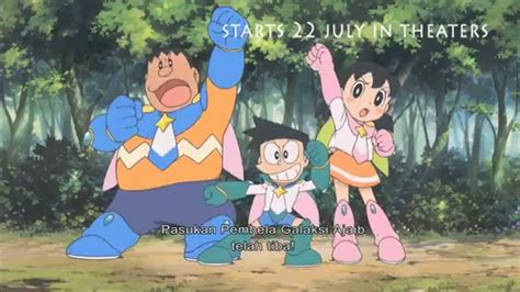 doraemon movie on youtube doraemon movie nobita and the space heroes indonesia