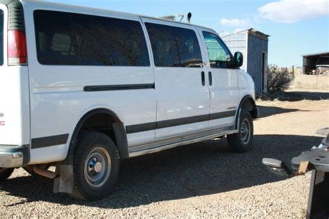 sell used 2003 gmc savana 3500 base extended cargo van 3 door 6 0l no reserve in orange sell used 2000 gmc savana 3500 base extended passenger van 3 door 7 4l 4x4 in cortez colorado