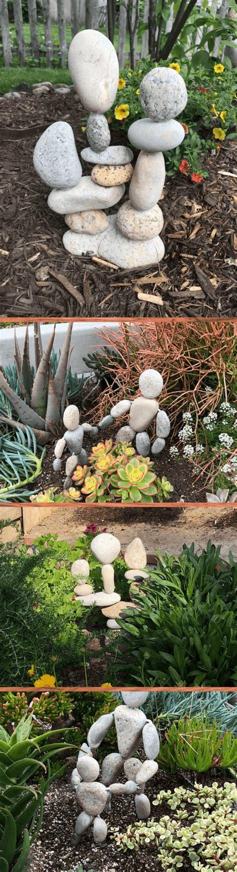 creative river rock stone ideas designs   zen