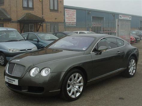 used bentley coupes for sale used bentley continental 2004 green paint petrol 6 0 w12