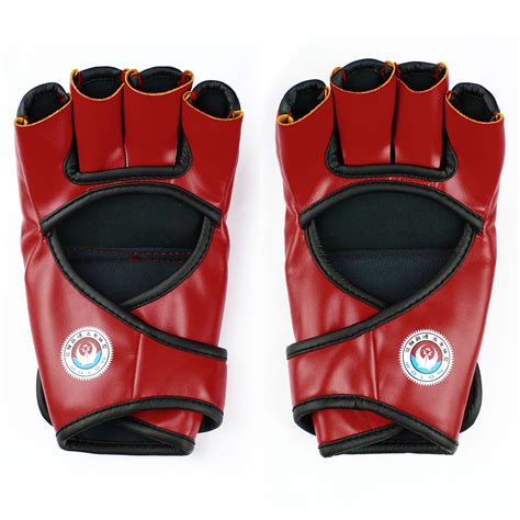 Mma Ufc Sparring Grappling Fight Boxing Punch Ultimate Mitts Leather G sparring grappling boxing gloves mma ufc fight punch