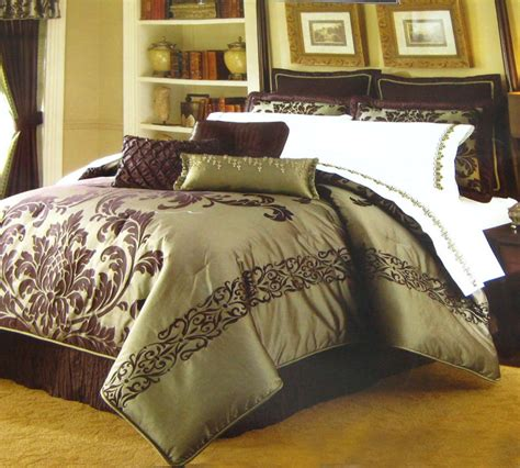 kohls bedding clearance kohl s queen cadence comforter set park avenue luxury