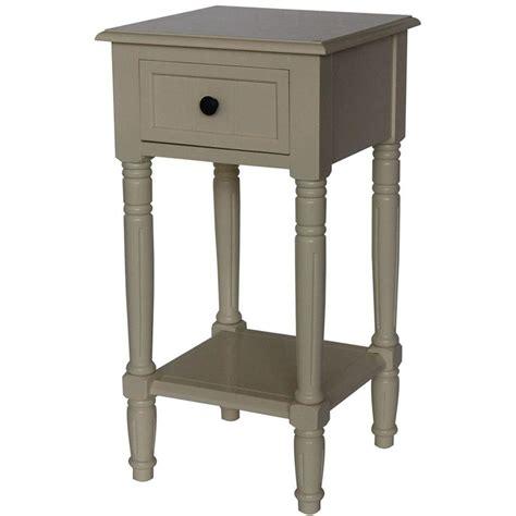 Buttermilk Shelf by 4d Concepts Simplicity Buttermilk End Table 570415 The