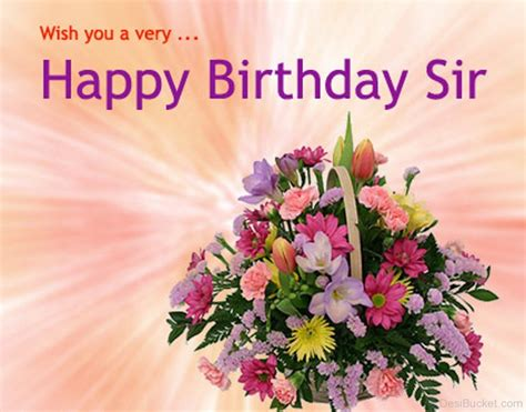 Happy Birthday Wishes To My Sir Happy Birthday Wishes For Boss Pictures Images Photos