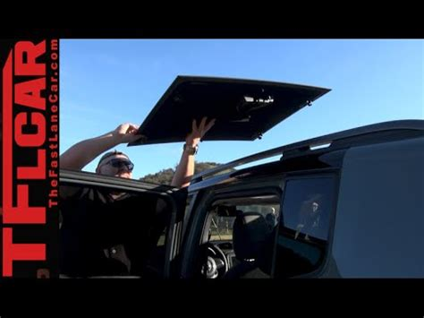 jeep renegade sunroof 2015 jeep renegade my sky removable sunroof tech demo