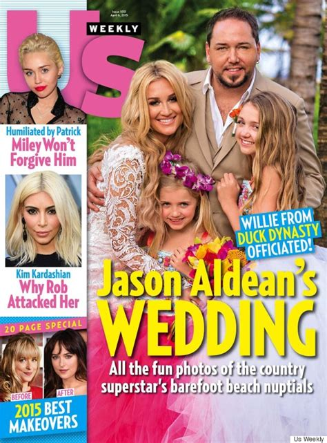 Jason Aldean And Brittany Kerr Share First Wedding Photo