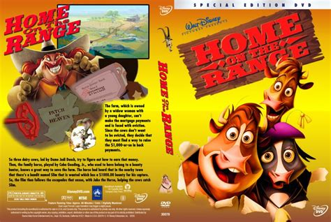 home on the range dvd custom covers 119home on