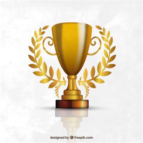 imagenes de trofeos vulgares trofeo de oro descargar vectores gratis
