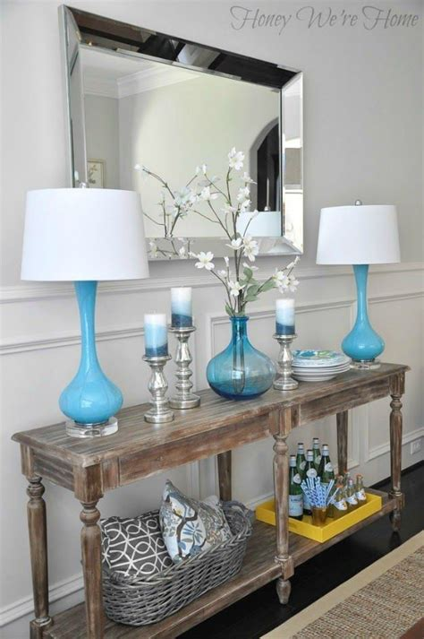 Large Foyer Table 1000 Ideas About Silver Console Table On