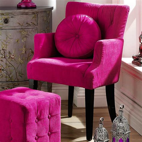 Fuschia Accent Chair by Sweet Pink Armchairs Architecture Interior Design