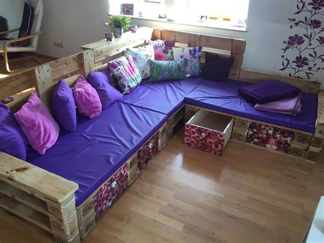 diy couch pallet diy pallet sectional sofa ideas 99 pallets
