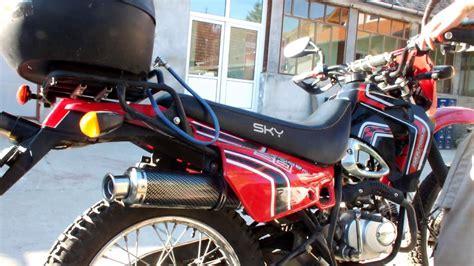 Cross Motorrad Youtube by Sport Exhaust Sprint Cross Sky Off Road Yamasaki By
