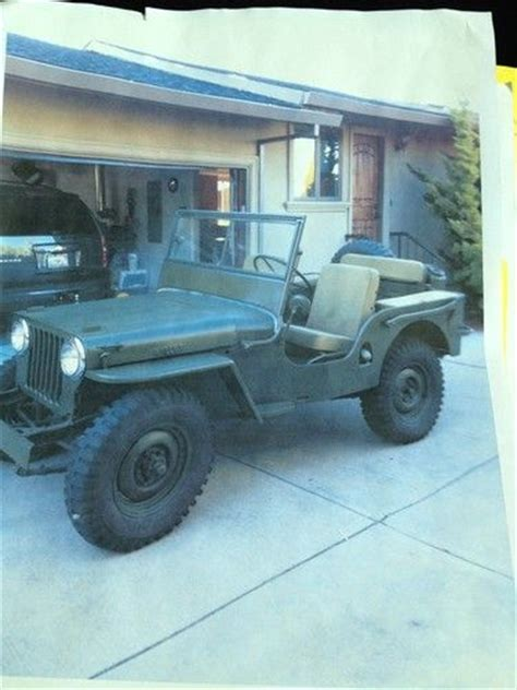 Jeep Cj2 Find Used 1947 Cj2 Willy Jeep Clone In South San