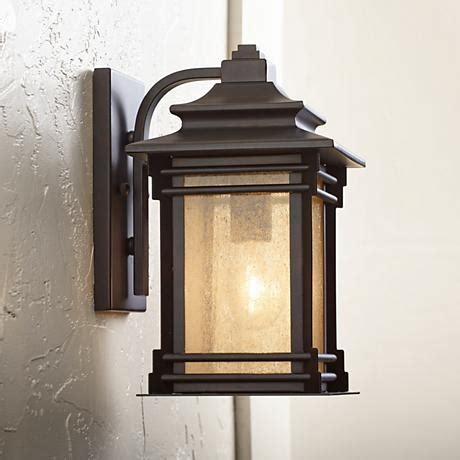 Iron Outdoor Lighting Franklin Iron Works Hickory Point 12 Quot High Outdoor Light 09559 Ls Plus