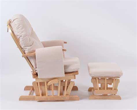habebe recliner glider chair habebe glider chair stool beech wood cream washable