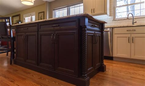 kitchen island length henry length kitchen cabinets st louis design