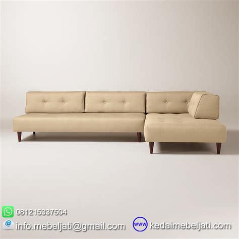 Daftar Sofa Sudut beli sofa sudut modern minimalis valencia kayu jati harga