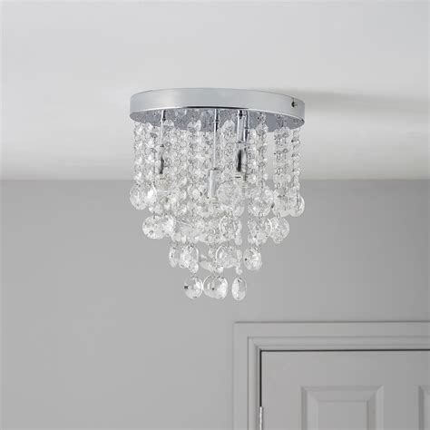 glimmer droplets chrome effect 4 l ceiling