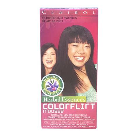 herbal essences hair color buy herbal essences colorflirt mousse hair colour in
