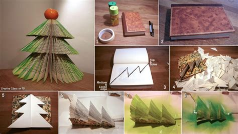 diy book christmas tree pictures photos and images for